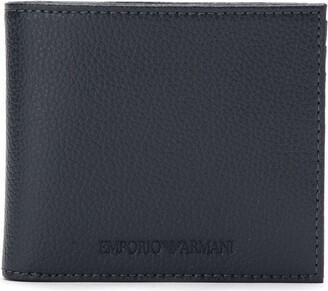 Emporio Armani Embossed Logo Billfold Wallet