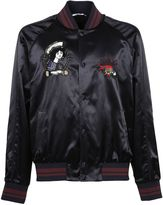 Valentino Embroidered Bomber
