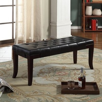 Red Barrel Studio Avaia Faux Leather Bench
