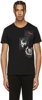 Alexander McQueen Black Patches T-Shirt