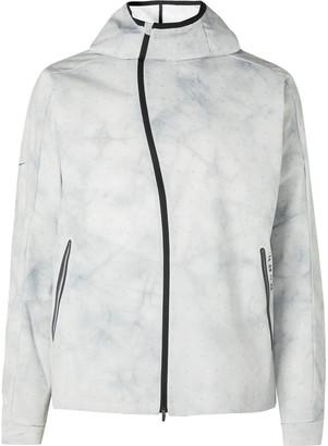 Nike Running Tech Pack Shield Reflective Shell Hooded Running Jacket