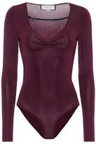 Gucci Embellished bodysuit