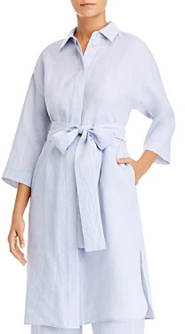 Lafayette 148 New York Rhodes Duster Shirt Dress