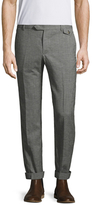 Michael Bastian Houndstooth Solid Pants