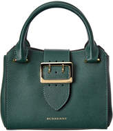 Burberry Small Buckle Leather Tote