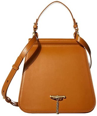 Laurèl SANCIA Satchel (Cognac) Handbags