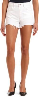 Mavi Jeans Rosie High Waist Distressed Cutoff Denim Shorts