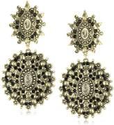 Yochi Stone Gold-Plated Drop Earrings