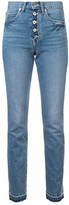 Eve Denim high waisted slim-fit jeans