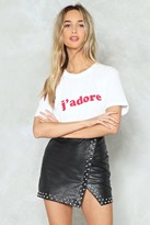 Nasty Gal J'adore Relaxed Tee