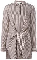 3.1 Phillip Lim tie waist shirt - women - Silk/Cotton - 10