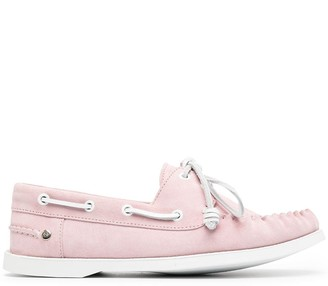 Loewe Lace-Up Loafers