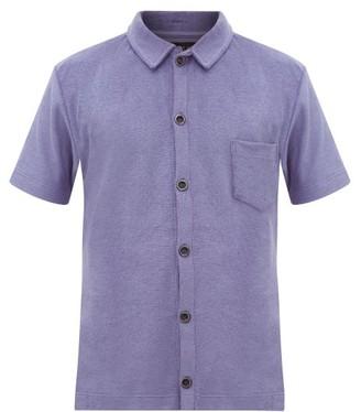 Howlin' - Light Flight Cotton-blend Terry Shirt - Mens - Purple
