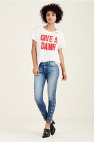 True Religion Give A Damn Womens Tee