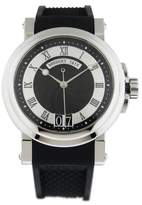 Breguet 5817st Marine 39mm Big Date Stainless Steel Watch
