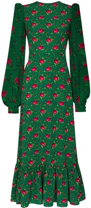 The Vampire's Wife Villanelle floral print midi dress
