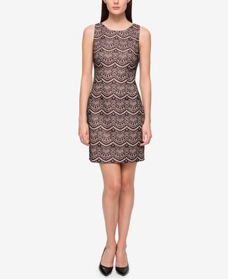 GUESS Lace Sheath Dress