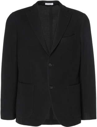 Boglioli K-Jacket Slim-Fit Wool Knit Blazer