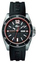 Lacoste Men's 2010799 Seattle Analog Display Japanese Quartz Black Watch