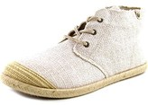 Roxy Flamenco Mid Women Canvas Ivory Fashion Sneakers.