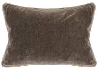 """Kosas Harriet Velvet 14""""x20"""" Rectangular Throw Pillow, Brown by Home"""