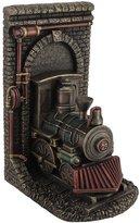 Zeckos Steampunk Steam Locomotive Finished Single Bookend