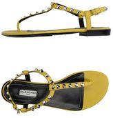 Balenciaga Toe post sandal