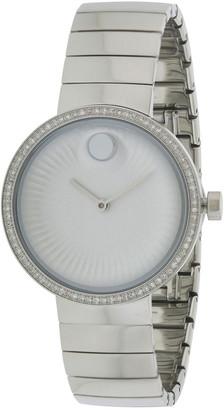 Movado Women's Swiss Edge Diamond Watch