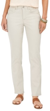 Style&Co. Style & Co Tummy-Control Straight-Leg Fashion Jeans, Created for Macy's