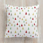 Minted Christmas Tree Forest Self-Launch Square Pillows