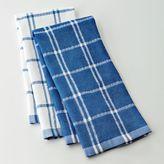 Food network™ 2-pk. plaid kitchen towels
