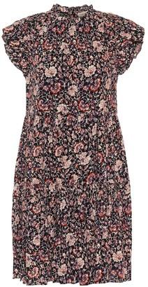 Ulla Johnson Hana floral cotton-blend minidress