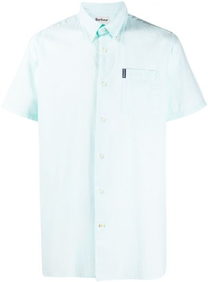 Barbour short-sleeve Oxford shirt