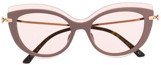 Jimmy Choo Clea cat-eye sunglasses