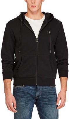 Ralph Lauren Polo Zip Pocket Full Zip Hoodie, Polo Black