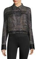 Haider Ackermann Textured Cropped Jacket