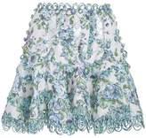 Zimmermann Whitewave Lace Flip Skirt