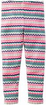 Carter's Print Leggings (Toddler/Kid) - Fairisle-4T