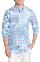 Vineyard Vines Men's Crystal Reef Check Tucker Classic Fit Sport Shirt