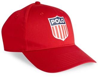 Ralph Lauren Sports Badge Baseball Cap