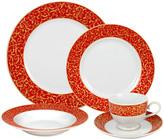 Mikasa Parchment Rouge 20 Piece Dinnerware Set