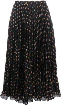 See by Chloe floral-print A-line skirt