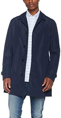 Tommy Hilfiger Tommy Men's MAC Trenchcoat Trench Coat,Large (Manufacturer Size: Large)