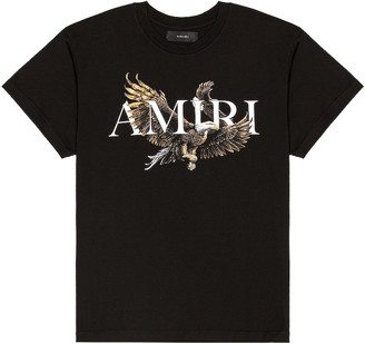 Amiri Eagle Tee in Black | FWRD
