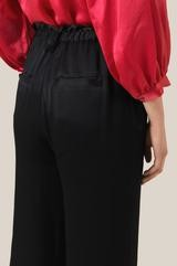 Second Female - Eddy HW Frill Trousers in Black - large