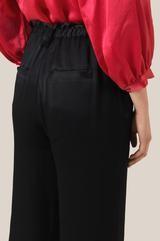 Second Female - Eddy HW Frill Trousers in Black - xs