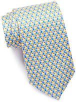 Tailorbyrd Pug Silk Tie