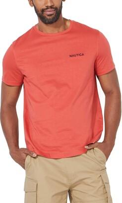 Nautica Men's Short Sleeve Crew Neck T-Shirt