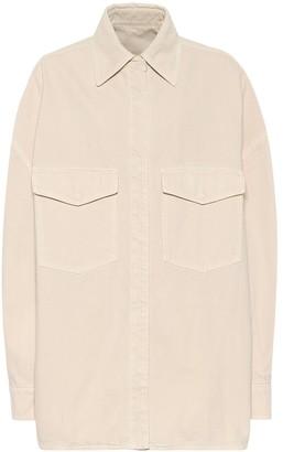 ATTICO Lotta oversized denim shirt