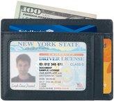 kinzd Slim Wallet RFID Front Pocket Wallet Minimalist Secure Thin Credit Card Holder